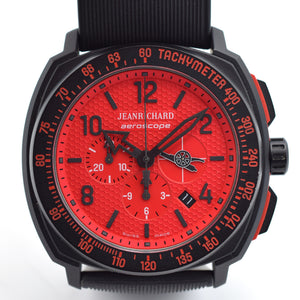 JeanRichard Aeroscope Arsenal Red Dial