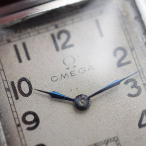 "1939 Omega ""Tank"" T17 Manually Wound"