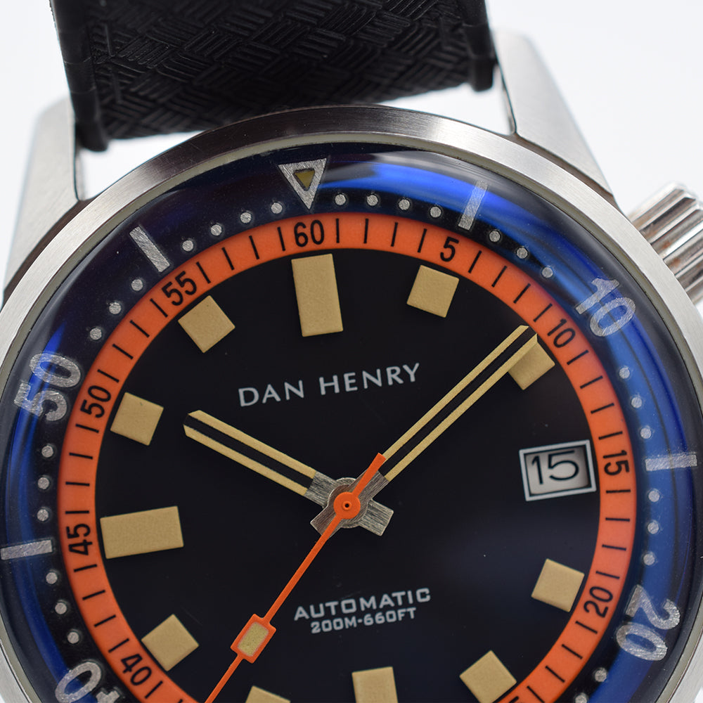 Dan Henry 1970 Date Limited Edtion 40mm Box & Papers
