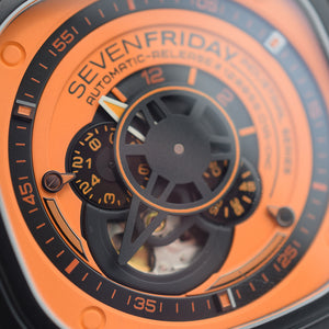 SevenFriday P1-03 Industrial Essence Orange