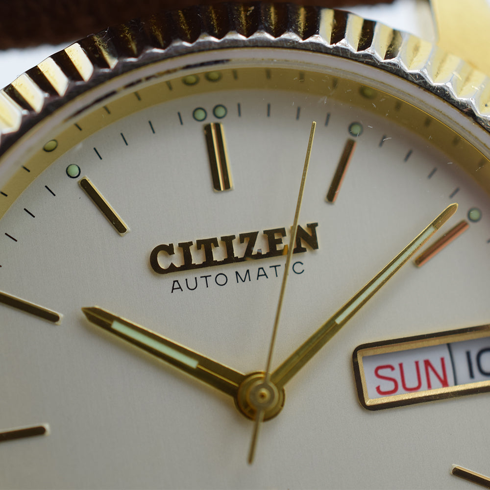 1983 Citizen Eagle 7 Automatic Day/Date Gold Plated