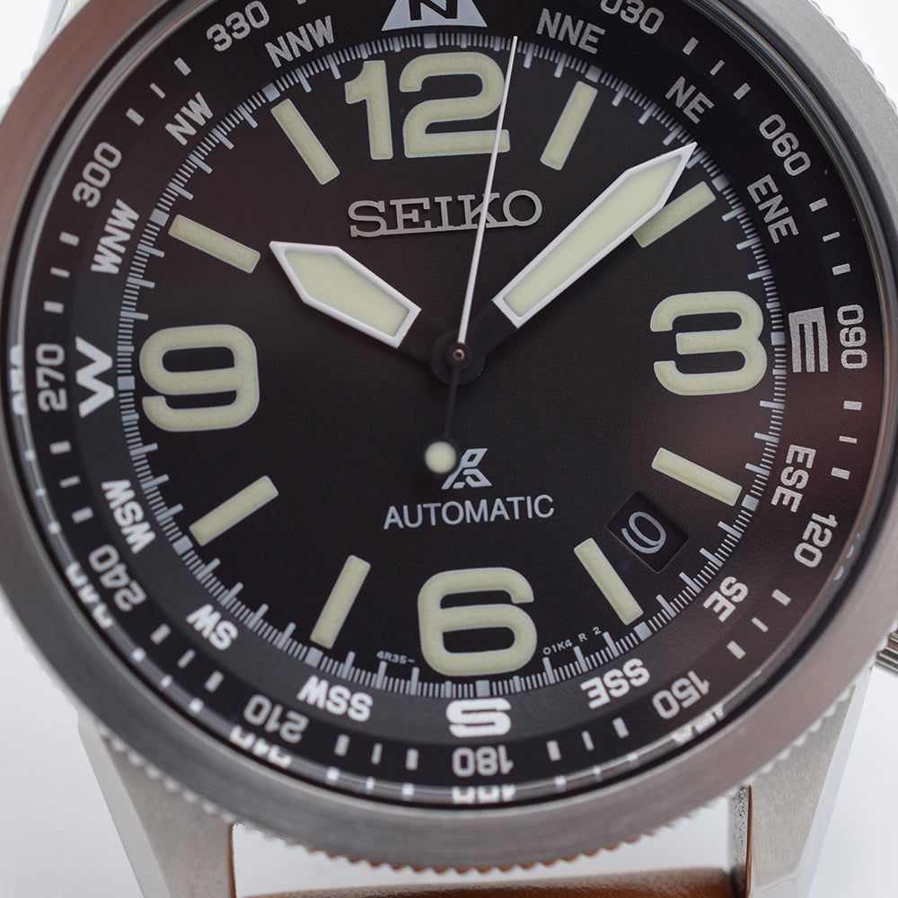 2017 Seiko Prospex Compass SRPA75K1 Box & Papers