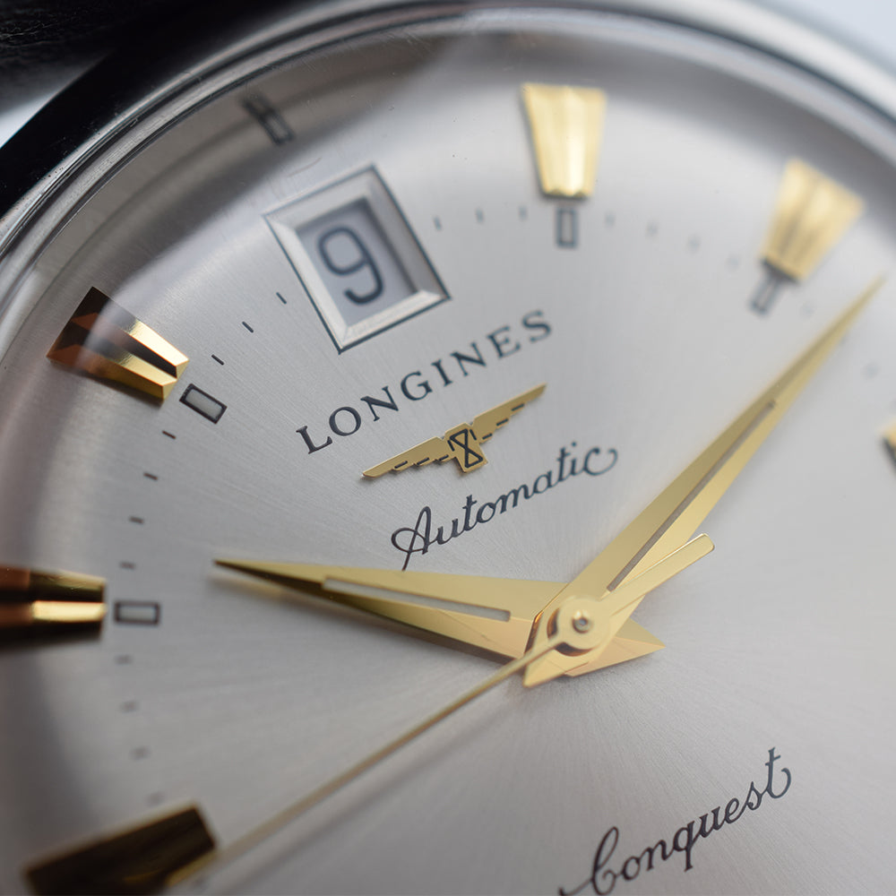 Longines Heritage Conquest Silver Automatic