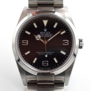 2005 Rolex Explorer 1 114270 Full Set