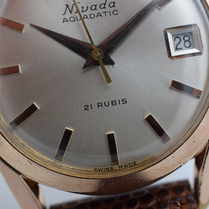 1960s Nivada Aquadatic Rose Gold