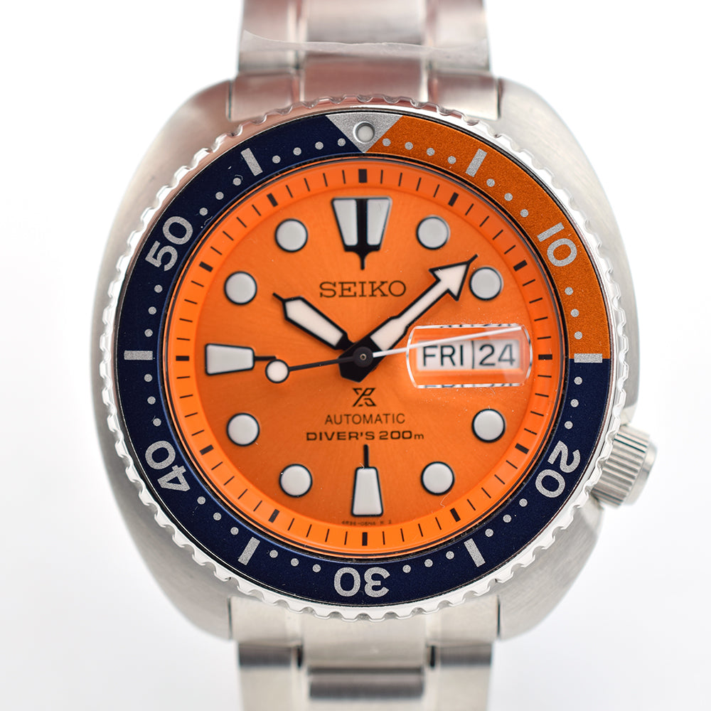 "Seiko Prospex Turtle ""NEMO"" Orange SRPC95"