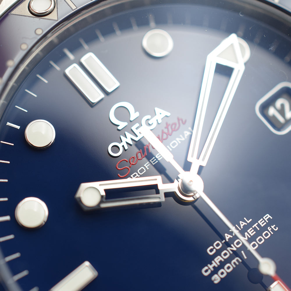 Omega Seamaster Diver 300 Co-Axial Blue