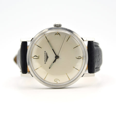 1958 Longines Manually Wound Art-Deco Numerals