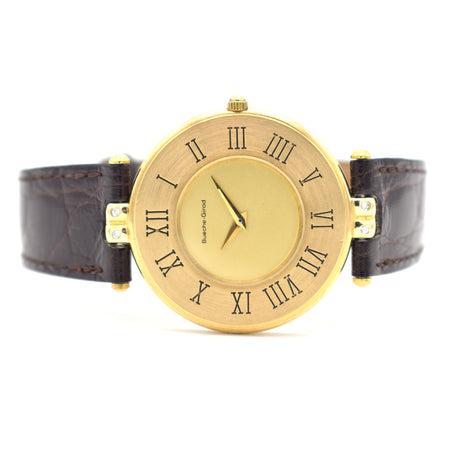 Bueche-Girod 9ct Gold Dress Watch