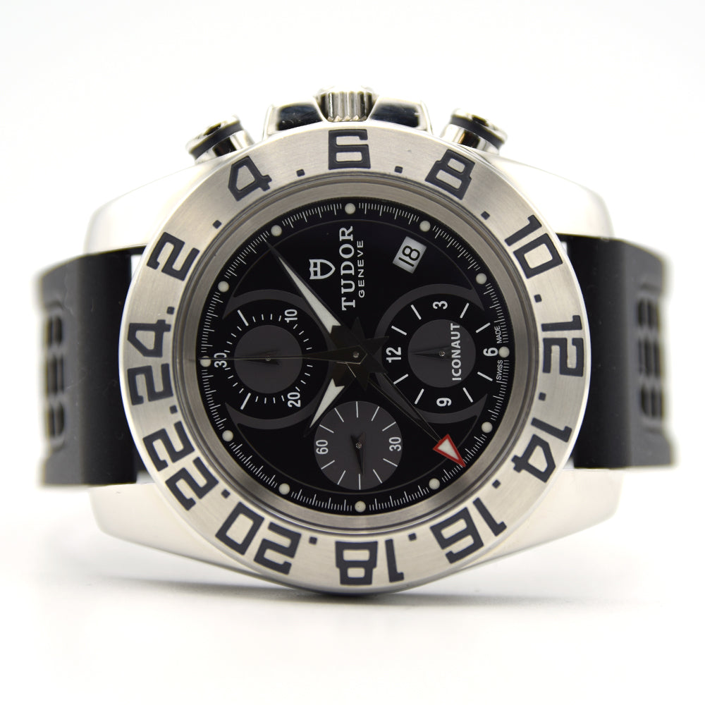 2012 Tudor Iconaut 20400 GMT Chronograph Full Set