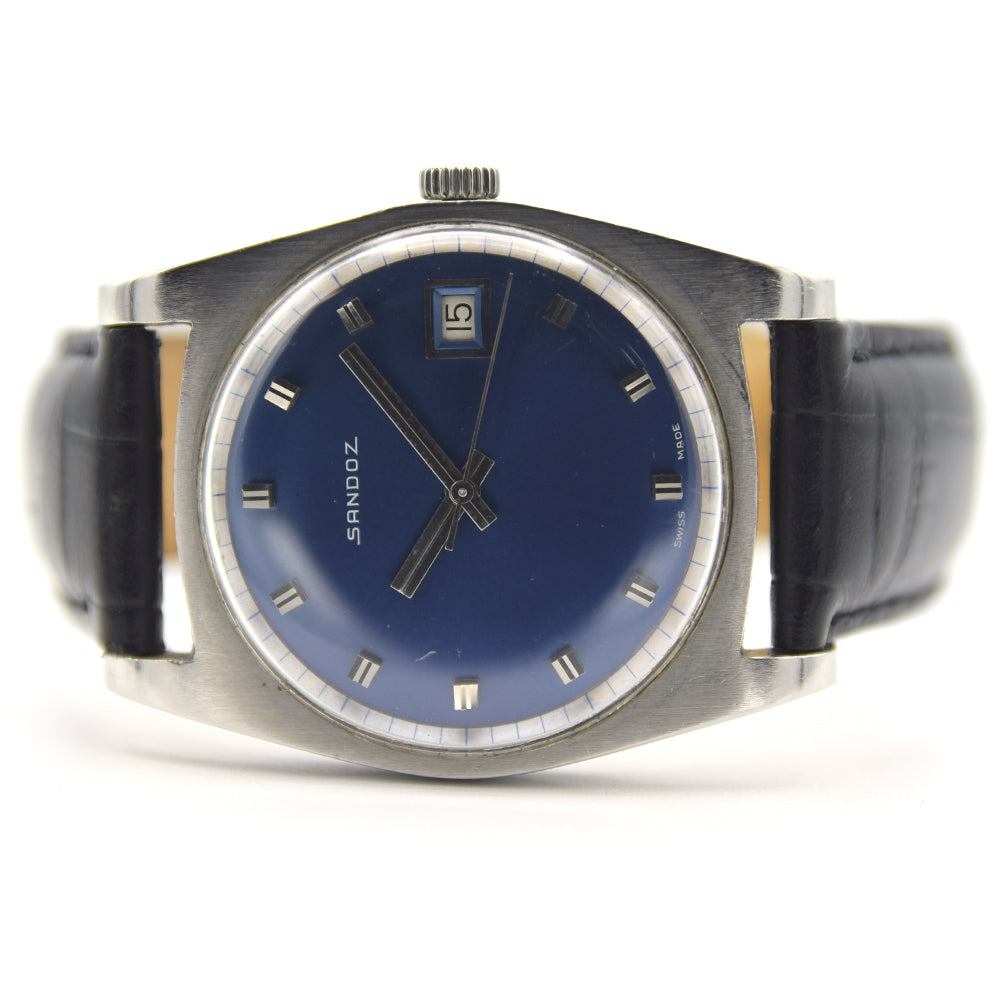1969 Sandoz Polemaster Electric Blue Automatic