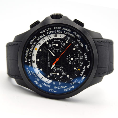 2016 Girard Perregaux Traveller WW.TC Chronograph Black