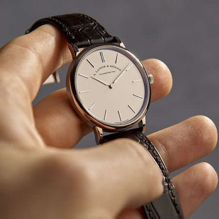 2019 A. Lange & Sohne Saxonia Thin White Gold 37mm