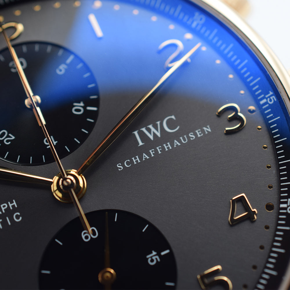 IWC Portugieser Chronograph 18K Rose Gold - IW371482