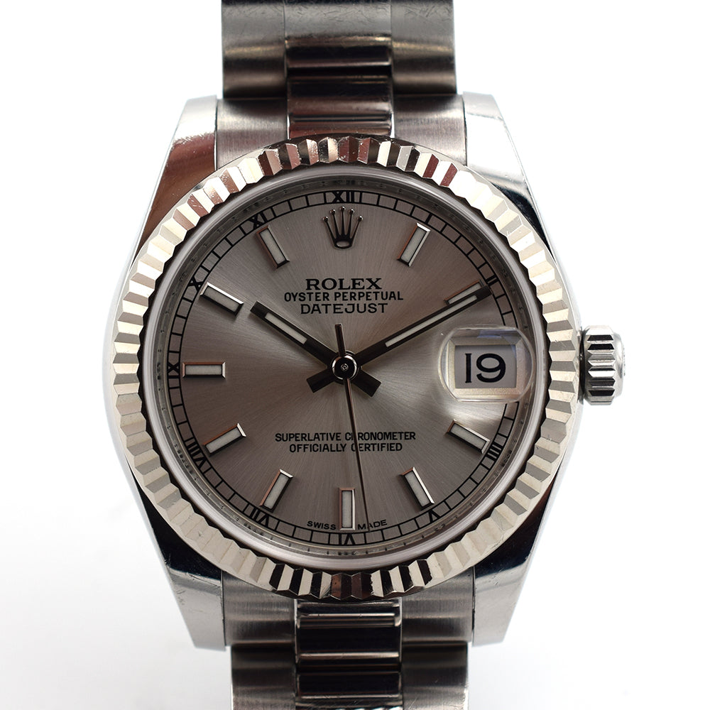 2017 Rolex 31mm Datejust Fluted Bezel 178274