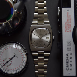1974 Omega Geneve Automatic Intregrated Bracelet
