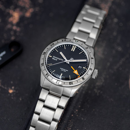 "2018 Christopher Ward C65 Trident GMT ""Steve McQueen"""
