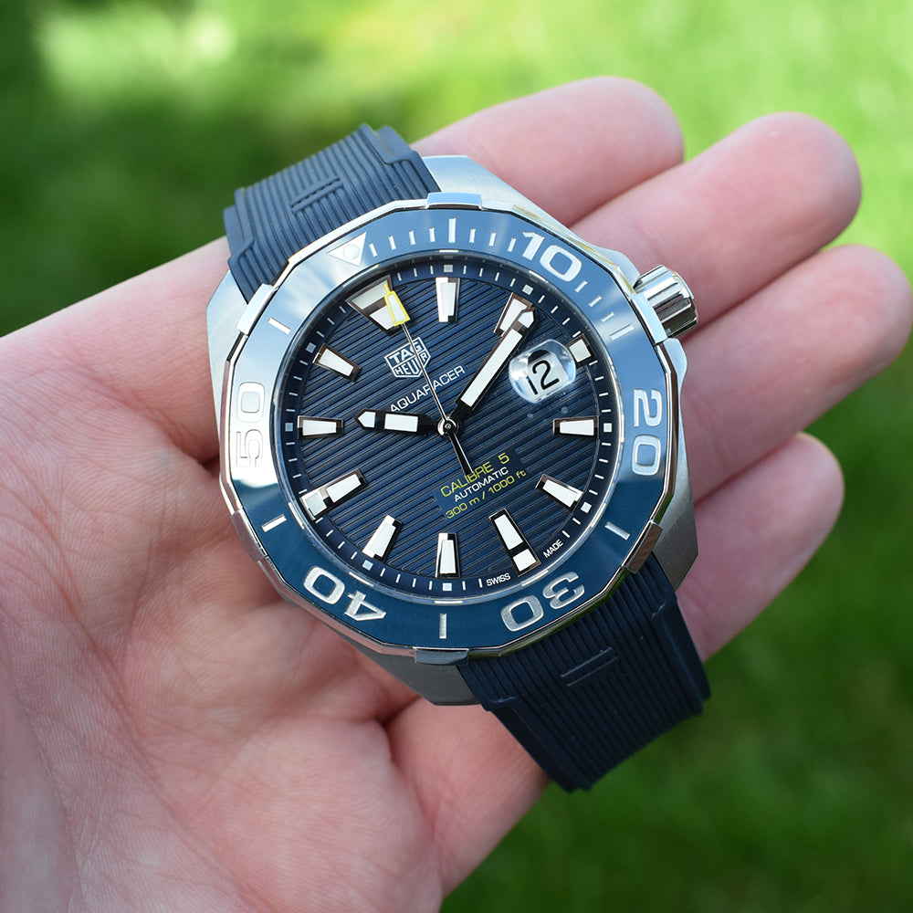 TAG Heuer Aquaracer Calibre 5 Blue