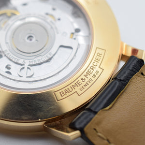 2017 Baume & Mercier Classima 18K Pink Gold Box & Papers