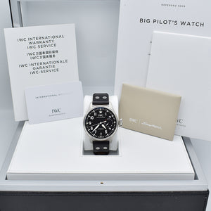 IWC Big Pilot 7 Days Power Reserve IW500912