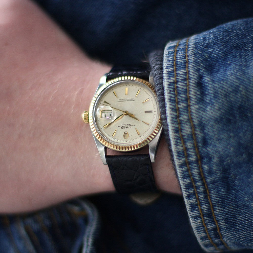 1962 Rolex Datejust Two-Tone 1601