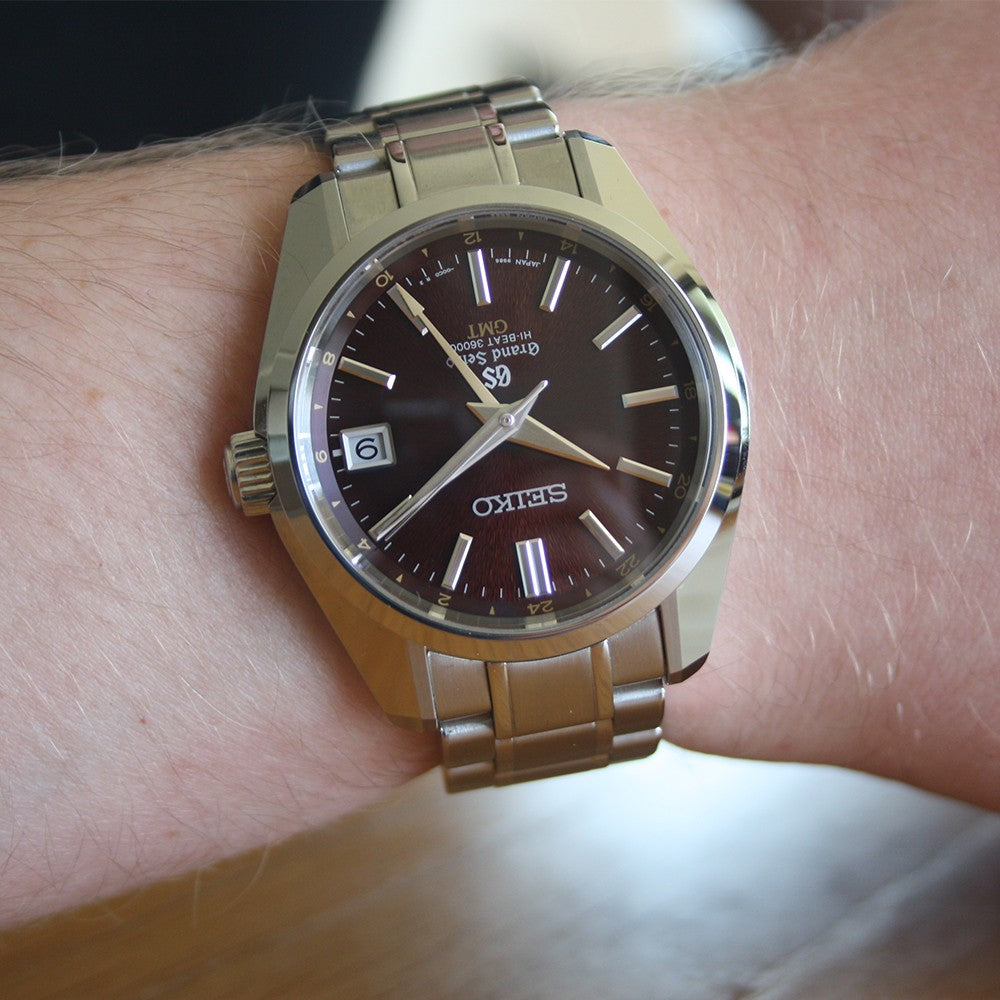 Limited Edition Grand Seiko Hi-Beat GMT SBGJ021