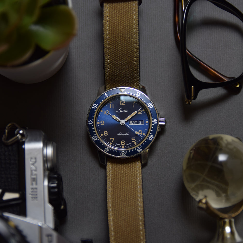 2020 Sinn 104 St Sa A B E Blue Limited Edition