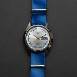 Feb 1969 Seiko 5 Rare Blue 5126-8110