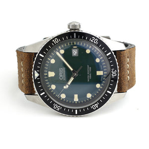 Oris Diver Heritage Automatic Green