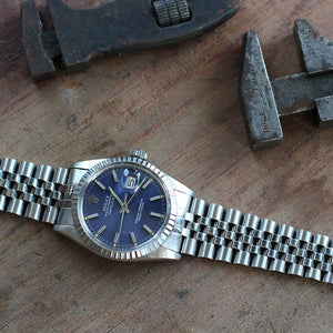 1979 Rolex Datejust 16030 Blue