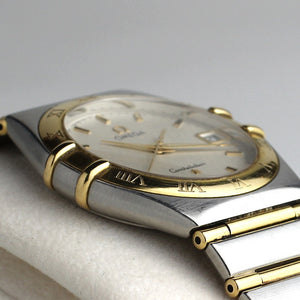 Omega Constellation Quartz Bi-Metal