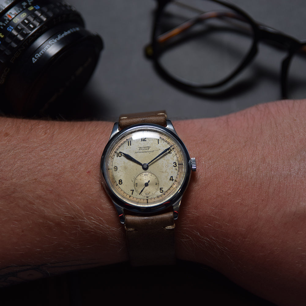 1939 Tissot Antimagnetique Oversized 38mm
