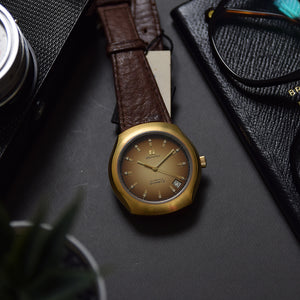 1970s NOS Zenith XL-Tronic Quartz Gold Plated