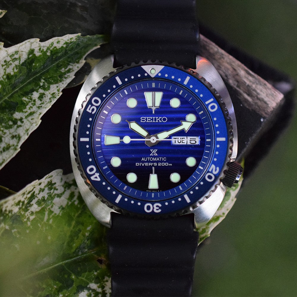 Seiko Save The Ocean Turtle SRPC91