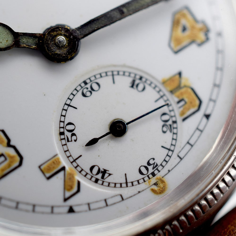 1918 Silver Movado/Talis Trench Watch