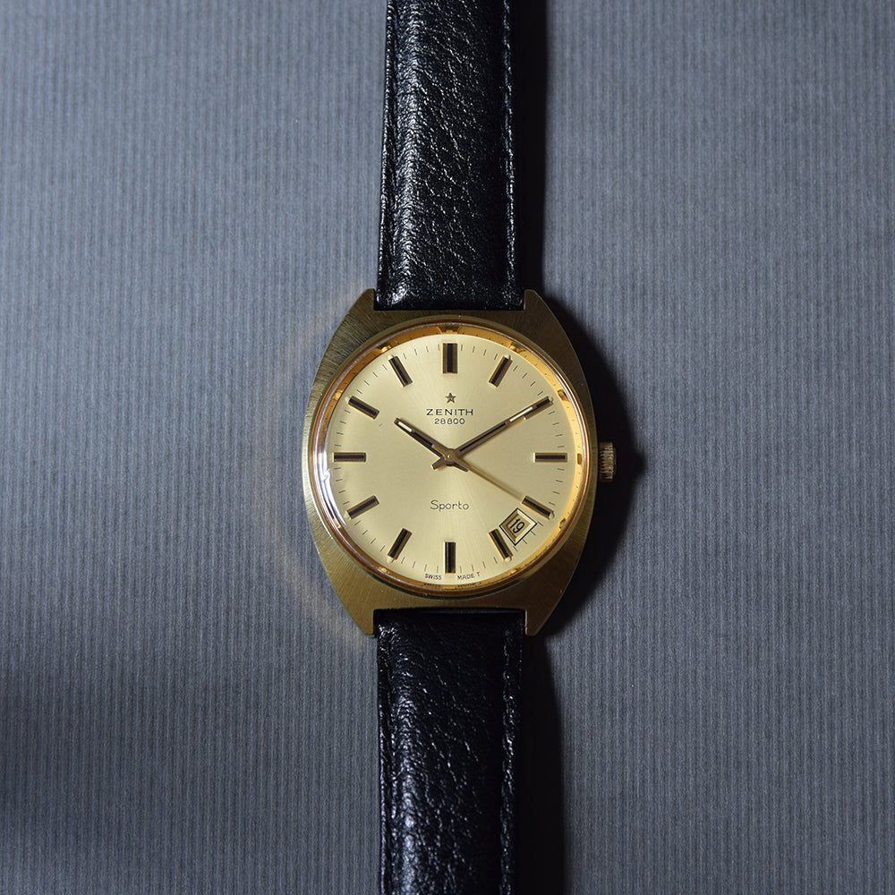1972 Zenith Sporto Date Manually Wound with Box