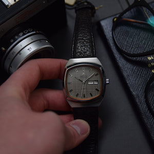 1970s NOS Zenith Automatic Defy TV Shape