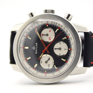 1960s Baylor Chronograph Valjoux 72 40mm