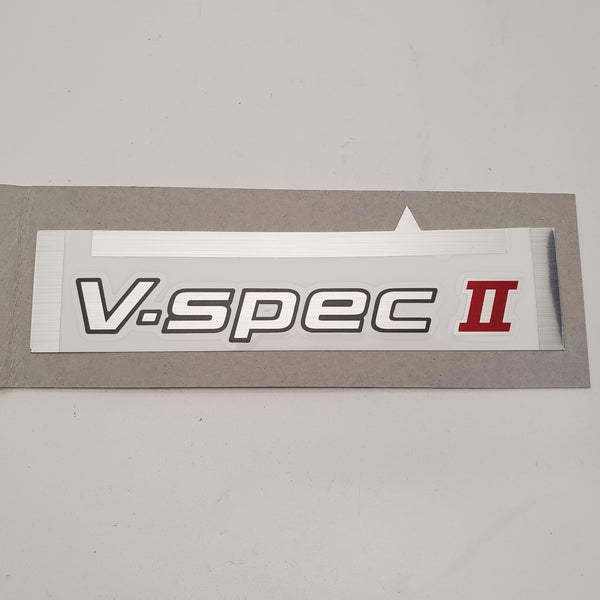 R34 GTR V-Spec II Rear Trunk Decal