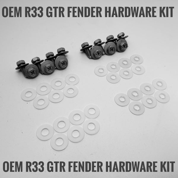 R33 GTR OEM Fender Hardware Kit