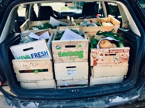 organic vegetable box home delivery