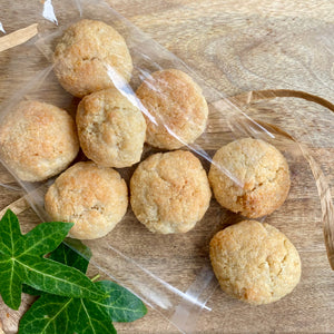 Amaretti biscuits *Gluten free - bag of 8