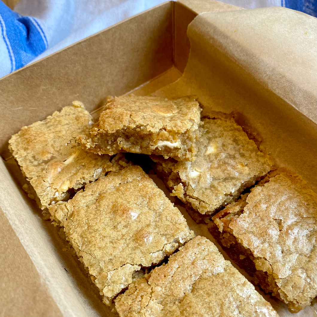 White Chocolate Blondies - boxes of 2 or 6