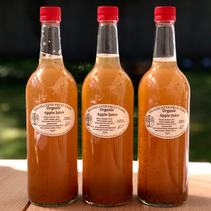 ADD ON: 3 x 75cl BRAMBLETYE ORGANIC APPLE JUICE