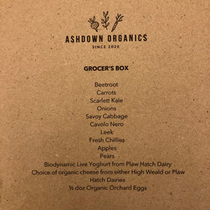 3. GROCER'S BOX