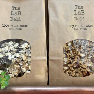LaB Deli Original Gluten Free Granola with Almonds, Pecans and Cinnamon