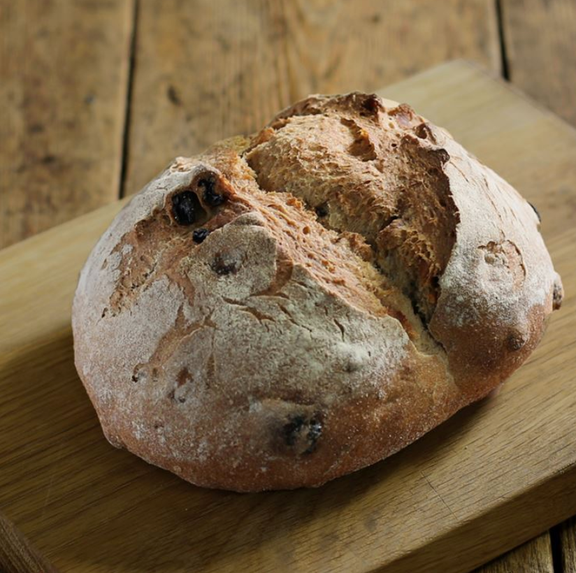 Walnut + raisin wholemeal sourdough