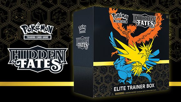 Pokemon Hidden Fates Elite Trainer Kit