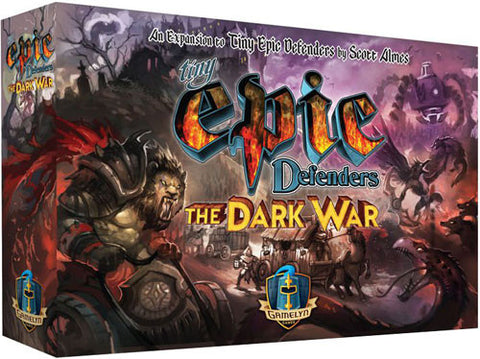 Tiny Epic Defenders Dark War expansion