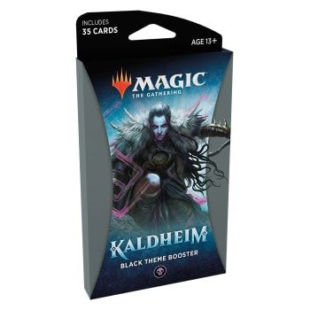 Magic Kaldheim Theme Booster Black
